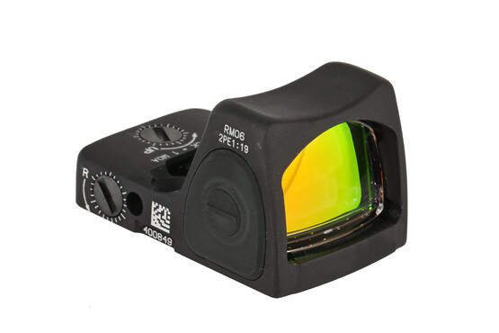 The Trijicon RMR Type 2 adjustable LED reflex sight features a 3.25 MOA red dot