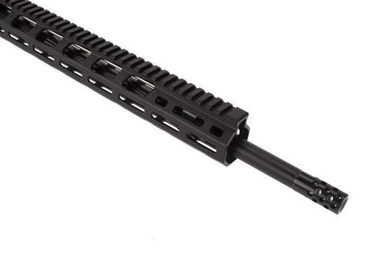 Ruger 8514 MPR AR-15 is equipped with Ruger's radial ported muzzle brake for reduced recoil and muzzle rise