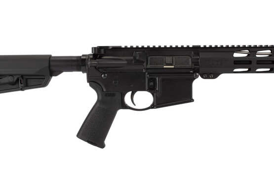 Ruger's AR-556 MPR (8514) ships with quality Magpul MOE Pistol grip with internal storage space