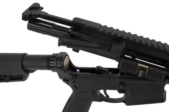 Ruger's 18 inch MPR is equipped with a MIL-SPEC M16 bolt carrier group, standard carbine buffer, and 2 stage trigger.