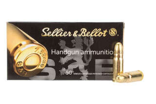 Sellier and bellot 7.62x25 tokorev features full metal jacket bullets