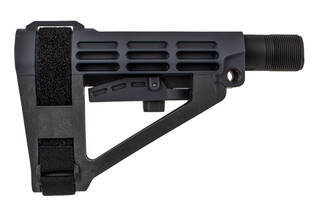 SB Tactical SBA4 Pistol Arm Brace comes in stealth gray