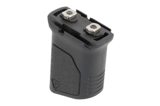 Strike Industries Vertical Angled grip can route cables into the body to remove slack