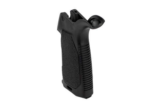 The Enhanced AR-15 pistol grip features an extended beavertail and palm swell