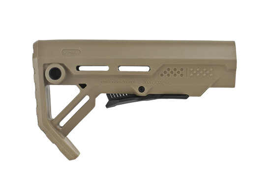 The Strike Industries Mod 1 AR15 Stock is designed for mil-spec buffer tubes