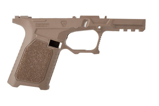 Strike 80 percent compact pistol frame kit FDE features improved ergonomics