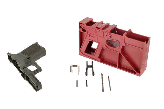 Strike Industries Strike80 pistol frame kit comes in olive drab green