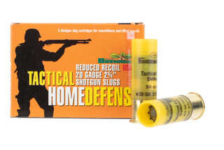 Brenneke Tactical Home Defense slug comes in a box of 5