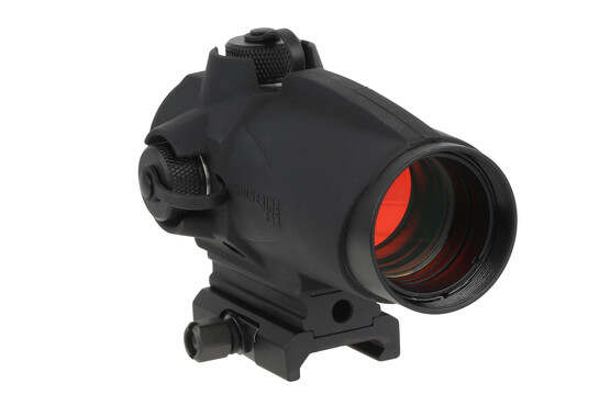 The Sightmark Wolverine FSR red dot sight is made from high strength aluminum with a rubber armor coating