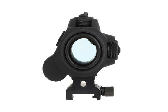 The Sightmark red dot optical sight comes with a picatinny mount and riser for absolute co-witness