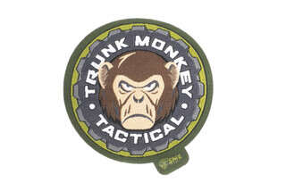 Shooting Made Easy Trunk Monkey Tactical Morale Patch with velcro backing