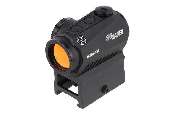 The Sig Sauer Romeo 5 red dot sight features a 2 moa reticle