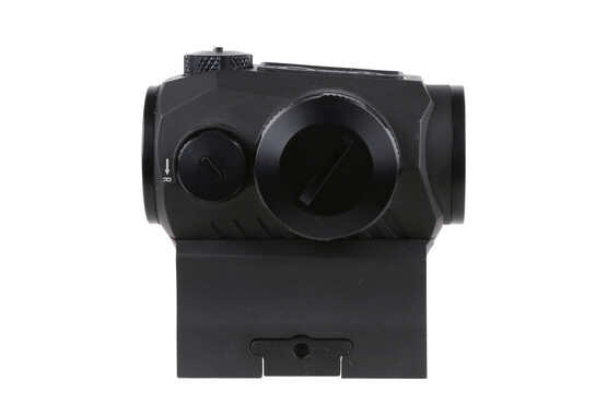 The Sig Sauer Romeo 5 compact red dot sight has unlimited eye relief for quick aiming