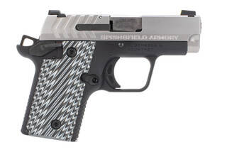 Springfield Armory 911 sub compact pistol is chambered in .380 ACP