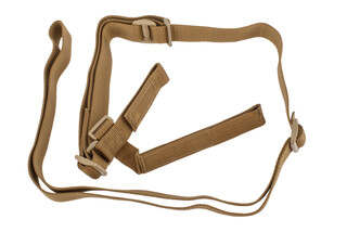 Troy Industries three point battle sling in coyote brown