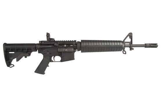 The Spike's Tactical 5.56 Rifle features a 14.5 inch barrel with pinned flash hider