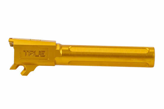 True Precision P365 XL fluted barrel gold is a drop in replacement