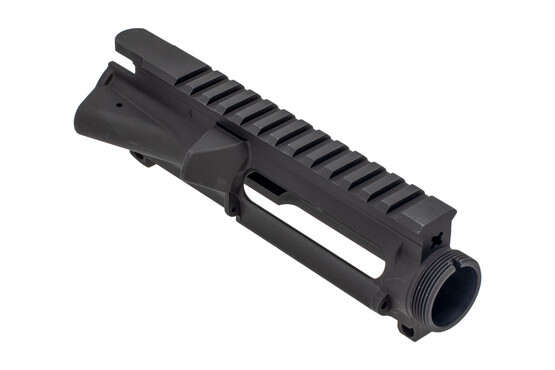 XTS Stripped AR-15 upper receiver is flat top with anodized finish and M4 feed ramps.
