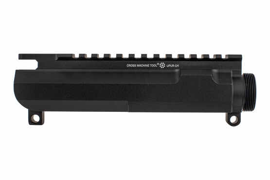 The Cross Machine Tool billet left hand upper receiver stripped is compatible with Mil-Spec parts