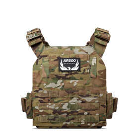 AR500 Armor Veritas Modular Plate Carrier in Multicam