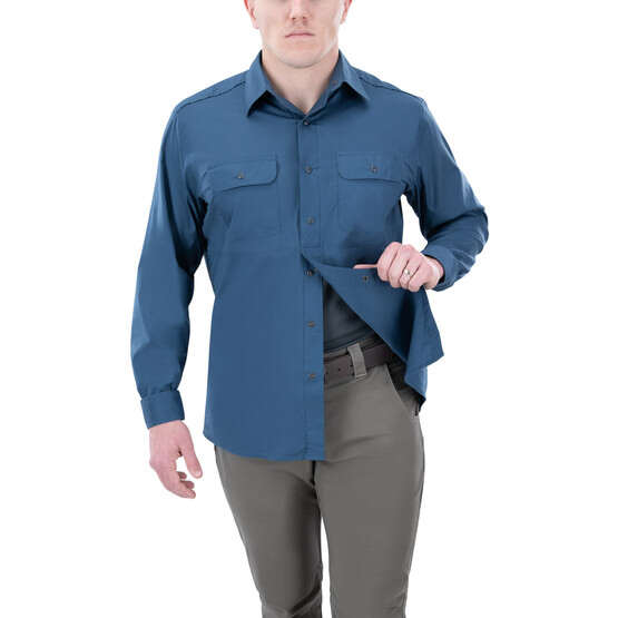 Vertx Guardian 2.0 Long Sleeve Shirt in dark sky with concealed carry function