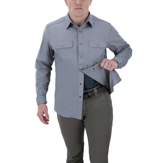Vertx Guardian 2.0 Long Sleeve Shirt in grey with concealed carry function