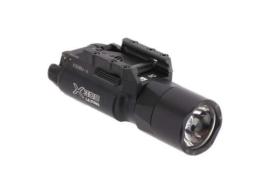 SureFire X300 Ultra Weapon Light provides a full 1,000 lumens of blistering light for your handgun or carbine.