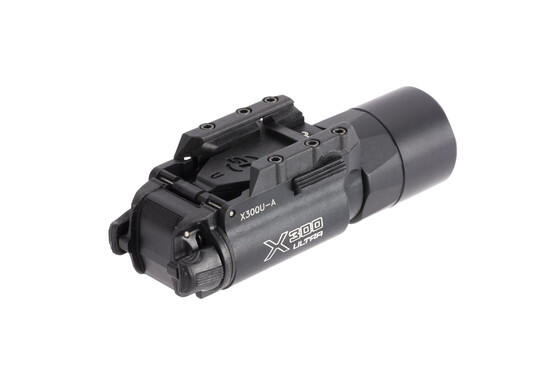 SureFire X300 Ultra compact 1,000 lumen weapon light with ambidextrous activation switches and black finish