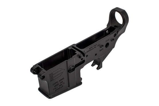 Expo Arms AR15 stripped lower receiver is forged from 7075-T6 aluminum