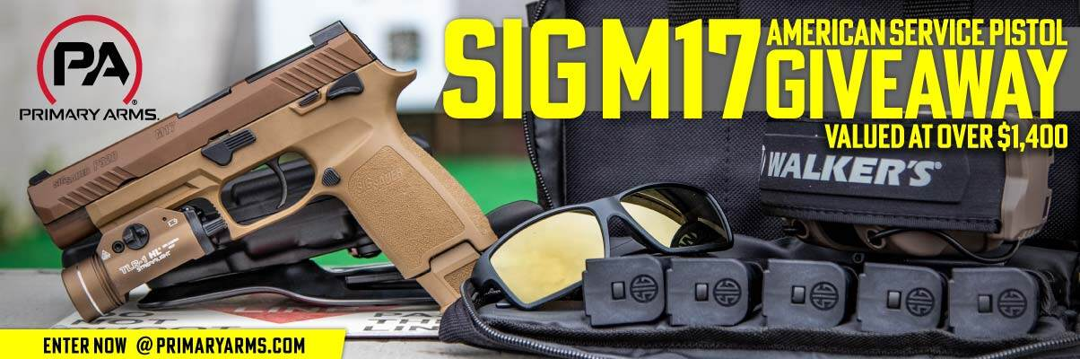 SIG M17 American Service Pistol Giveaway
